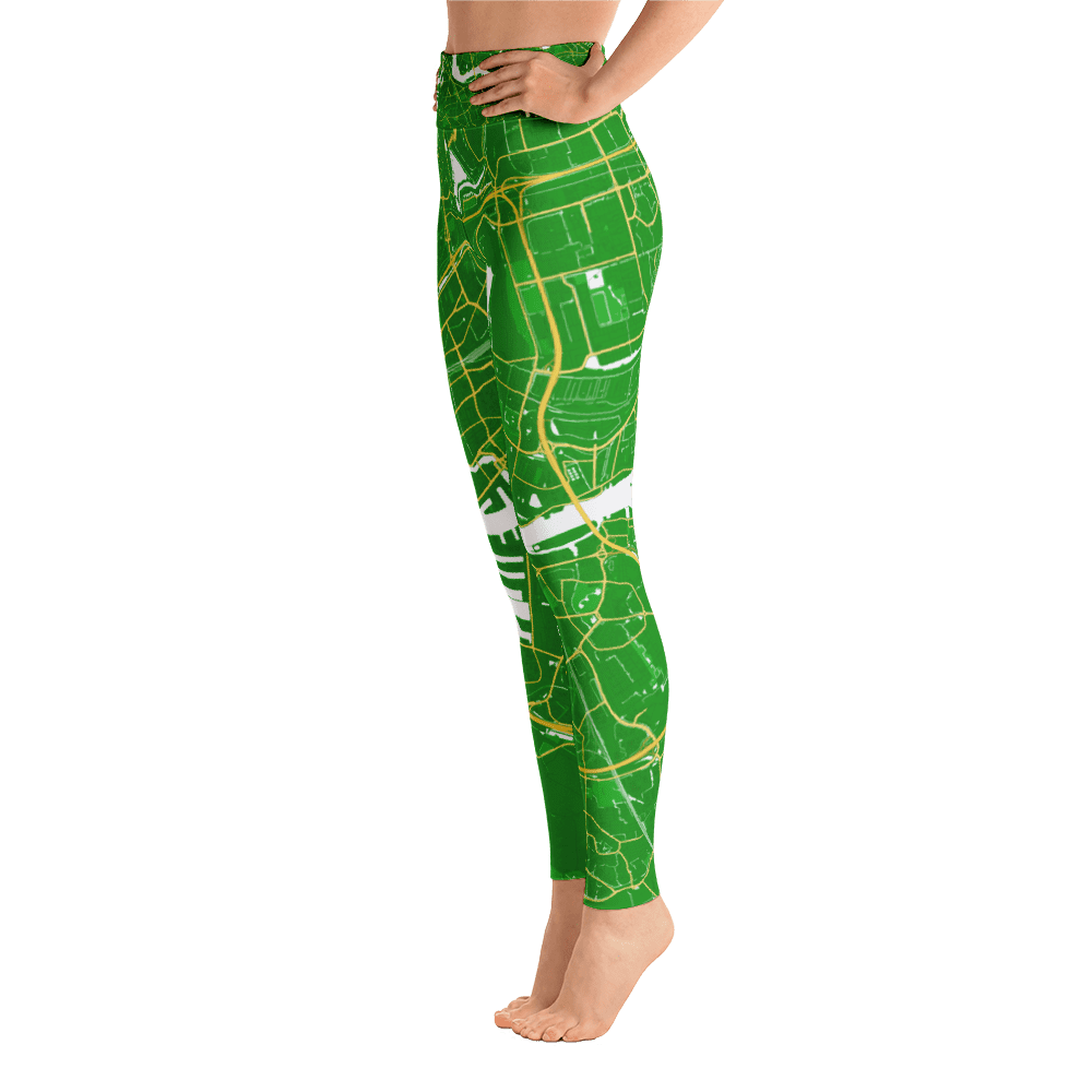 Yoga Leggings Rotterdam Green