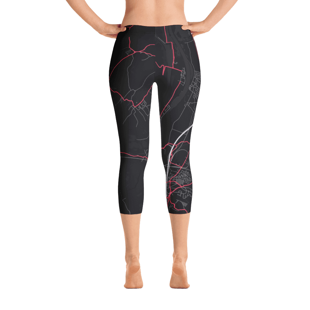 Capri Leggings Eijsden Black Pink