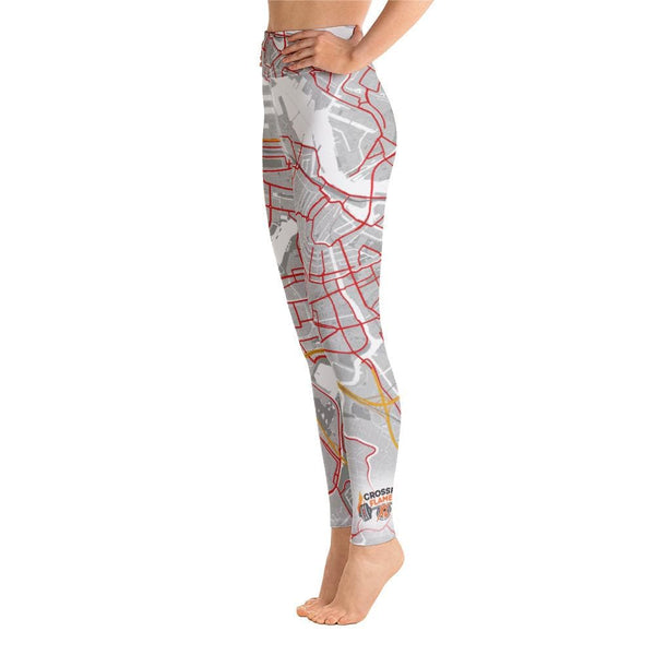 Yoga Leggings Amsterdam CrossFit Flames XL