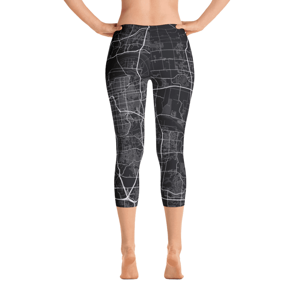 Capri Leggings Kansas City Missouri Black