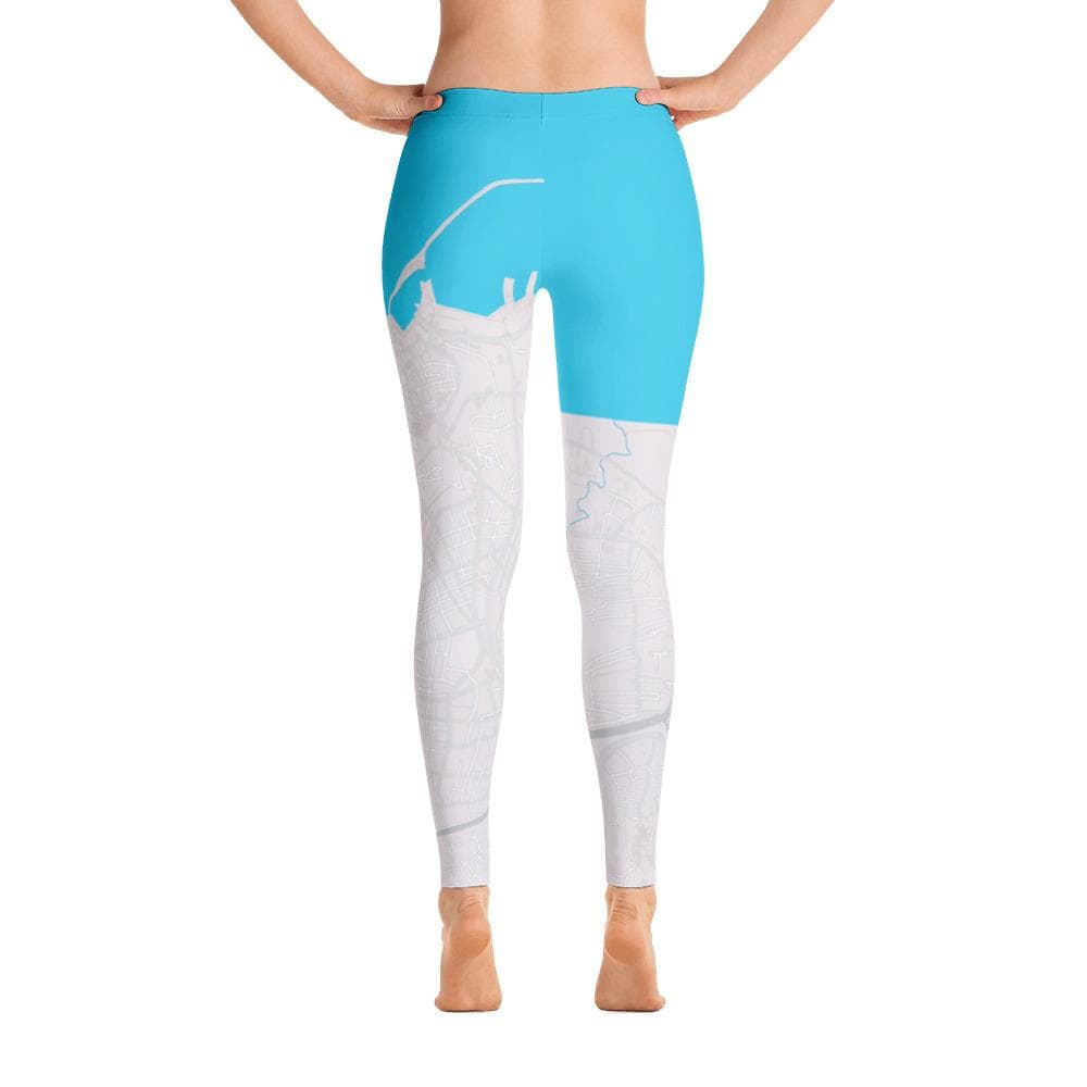 Iraklion Grey Blue Leggings
