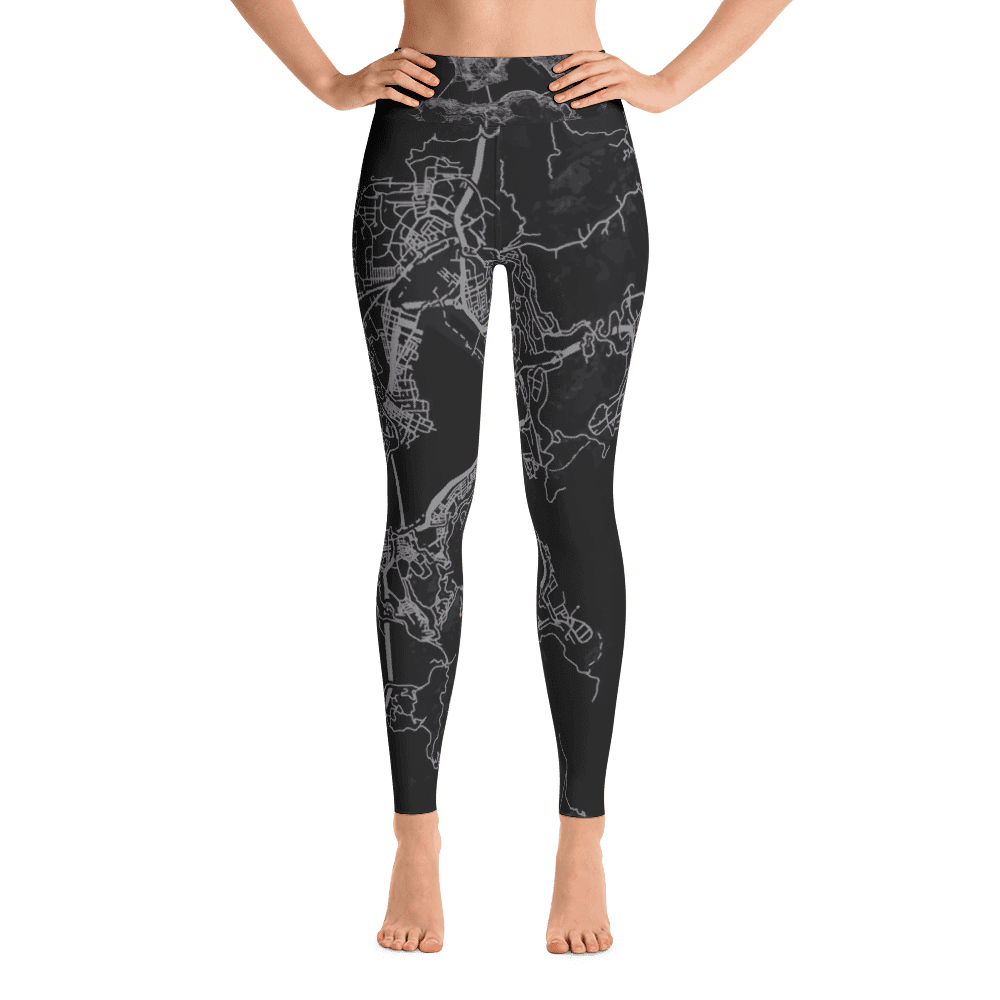 Yoga Leggings Hong Kong Black