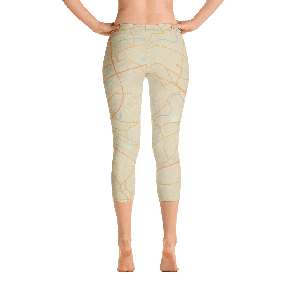 Capri Leggings Gent Retro