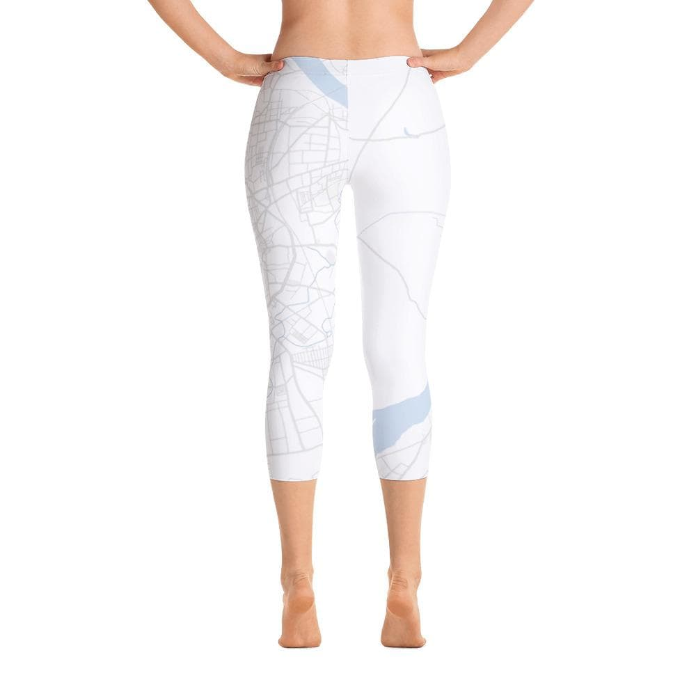 Capri Leggings Surat White