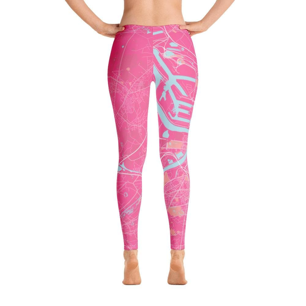 Leggings Antwerpen Pink Blue