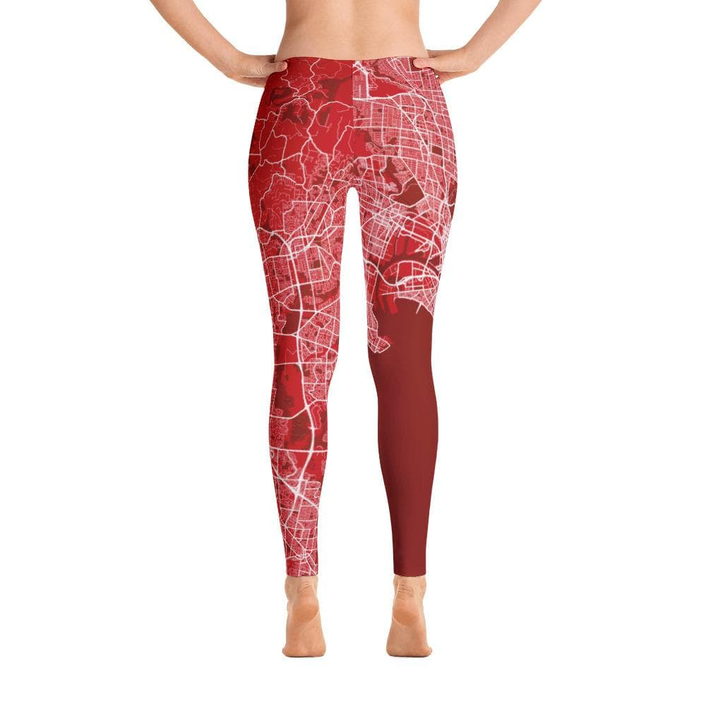 Leggings Melbourne Red