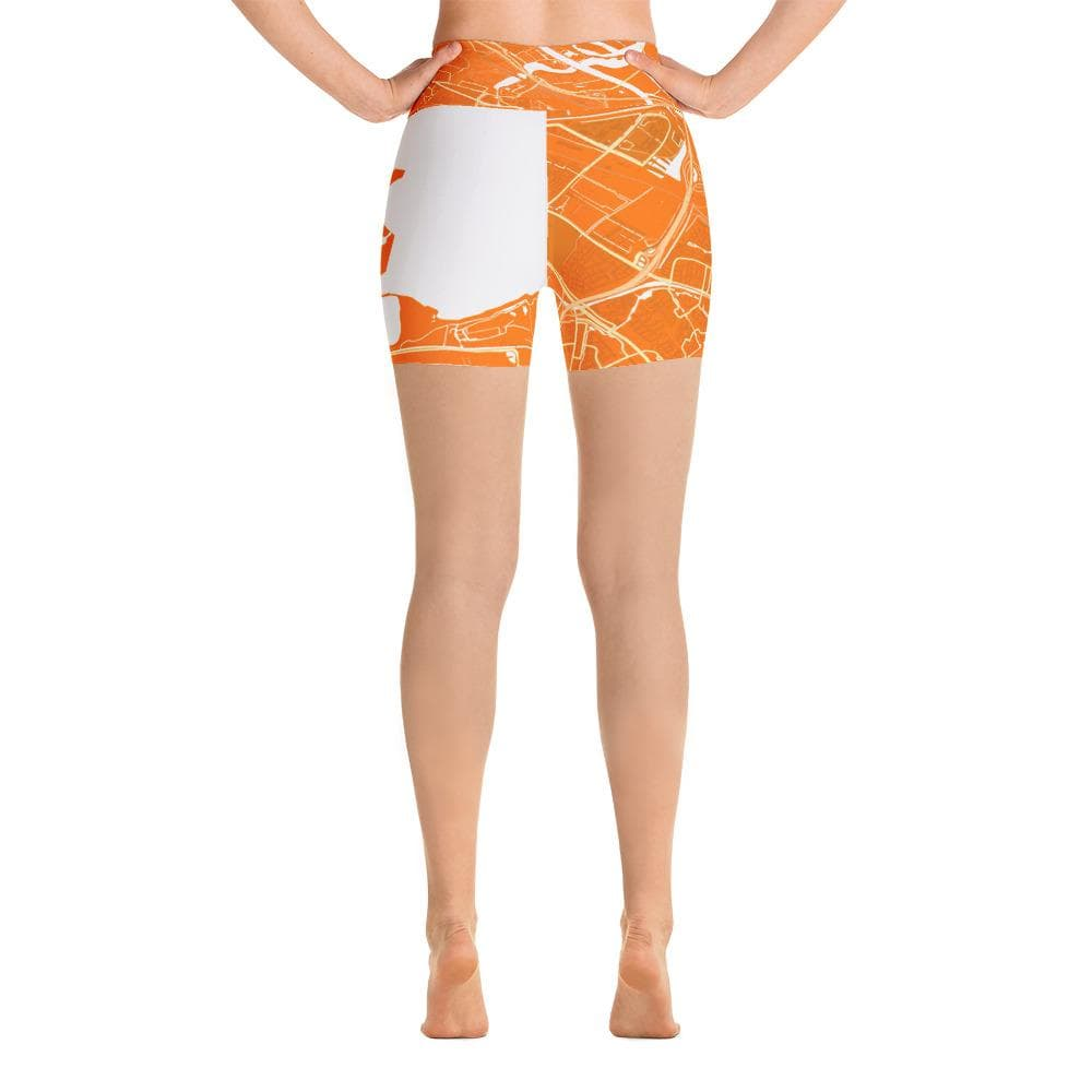 Yoga Shorts Diemen Orange