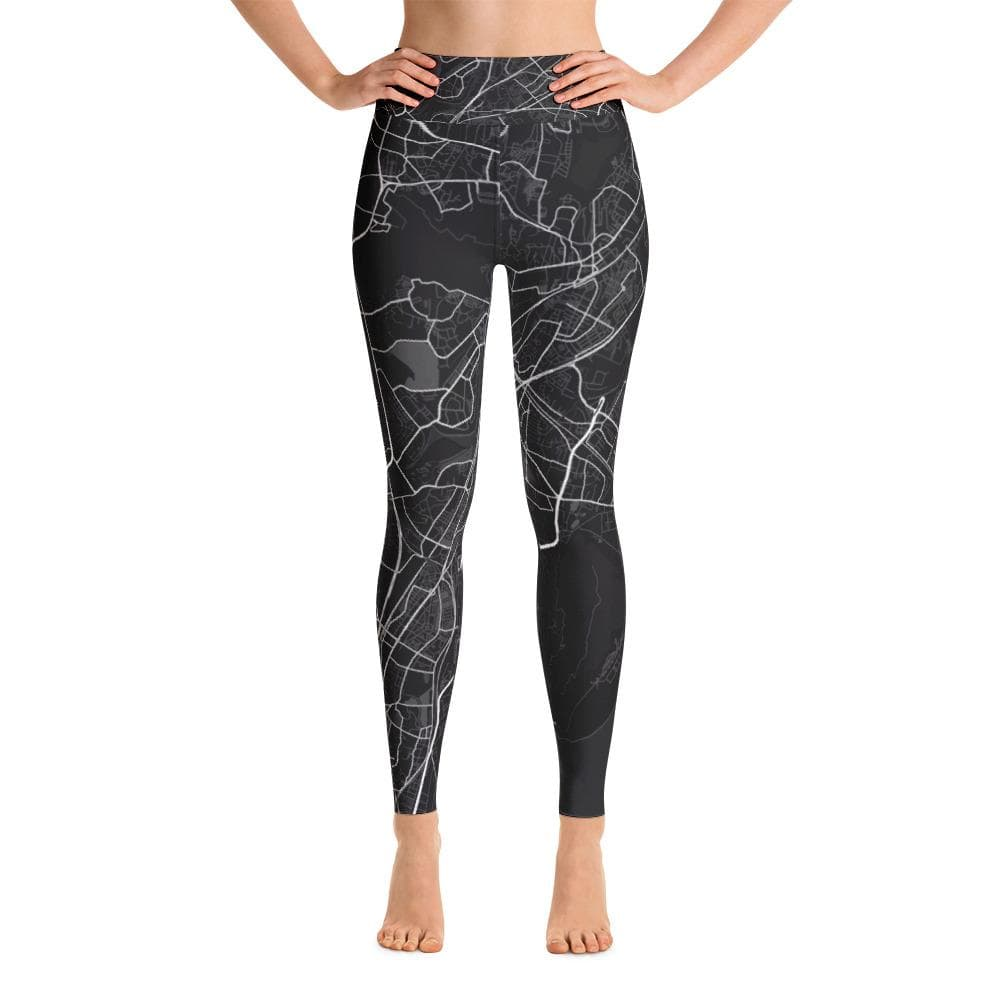 Yoga Leggings Mumbai Black