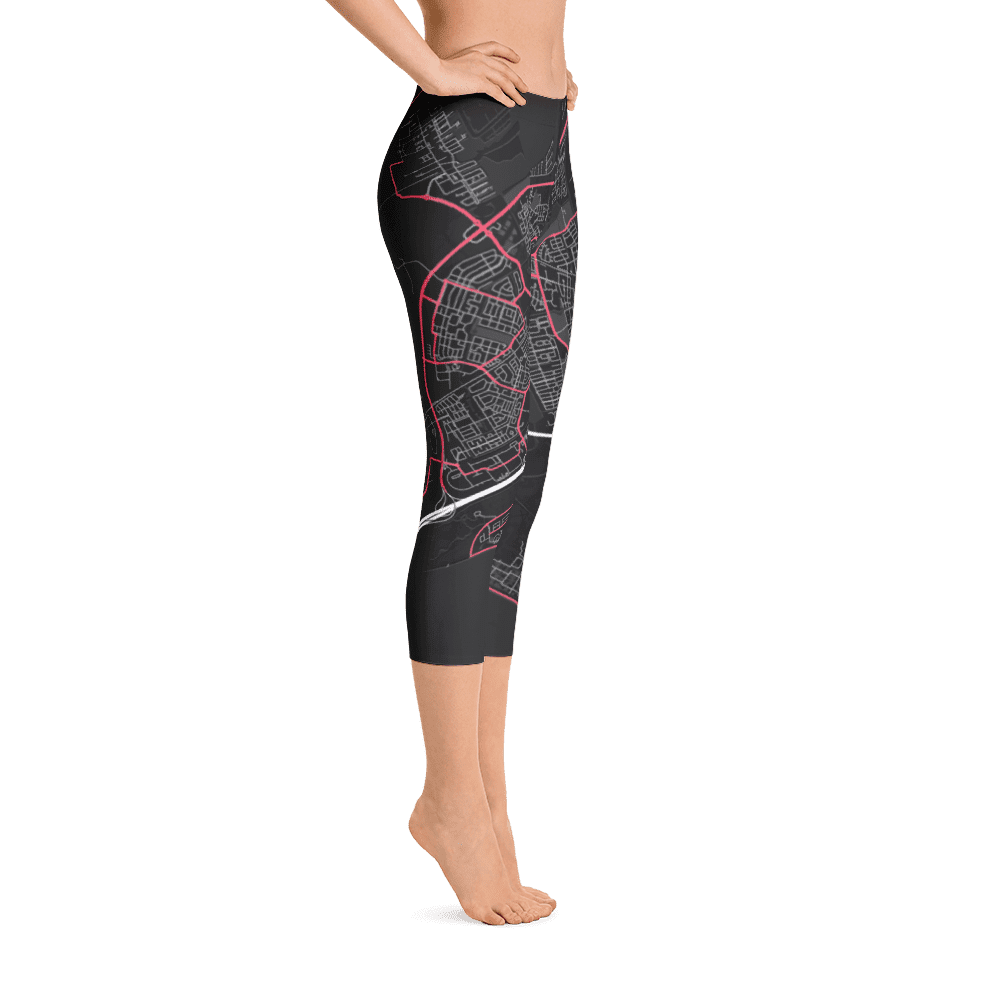 Capri Leggings Almere Black Pink