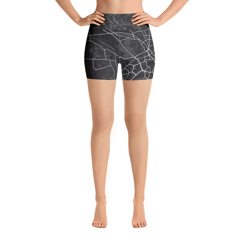 Yoga Shorts Hannover Black