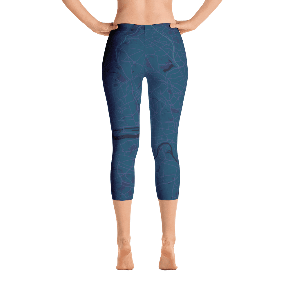 Capri Leggings London Aubergine