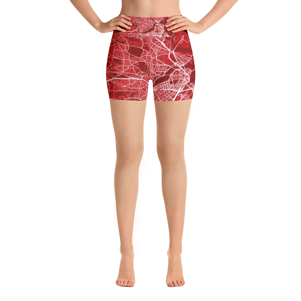Yoga Shorts Boston Red