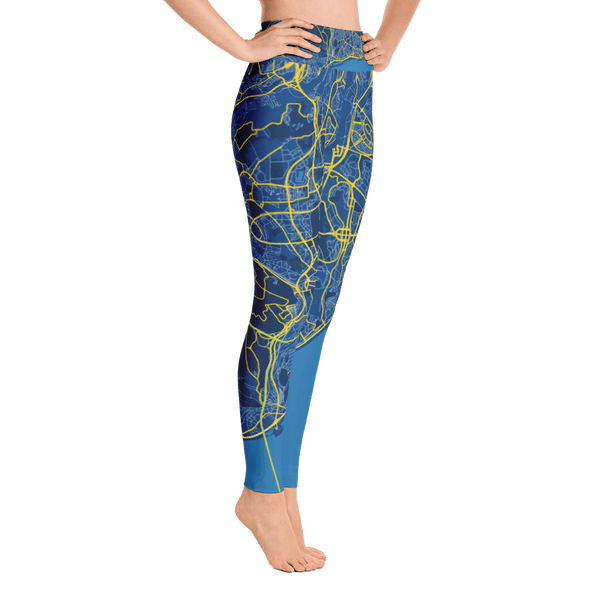 Yoga Leggings Lissabon Blue
