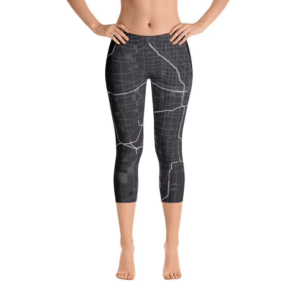 Capri Leggings Chicago Black