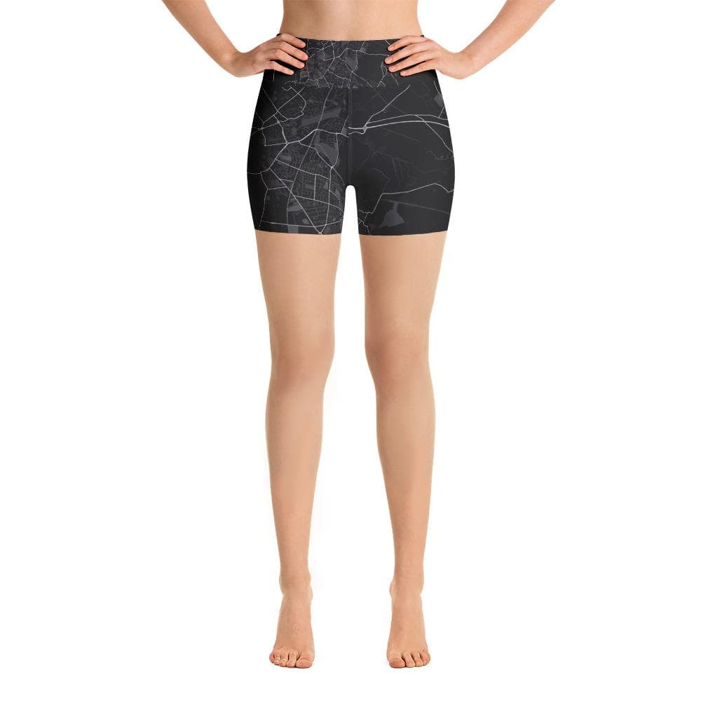 Cambridge UK Black Yoga Shorts