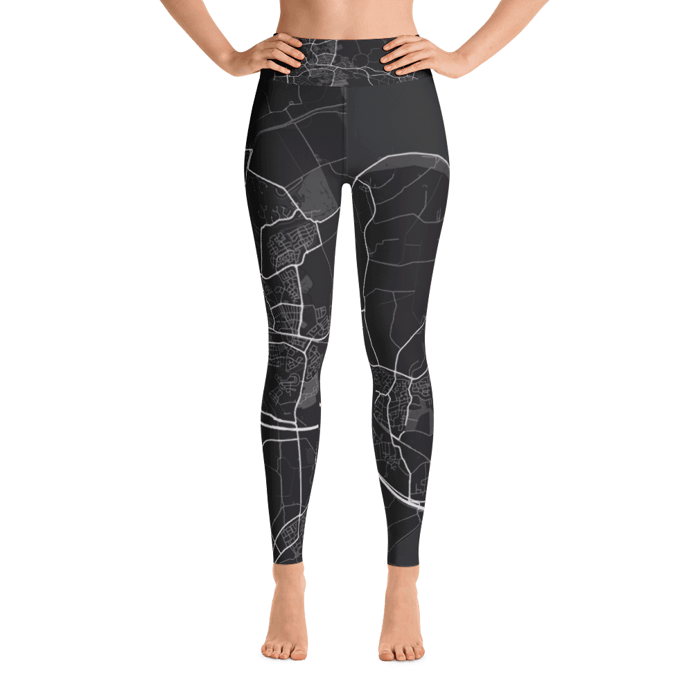 Yoga Leggings Goes Black