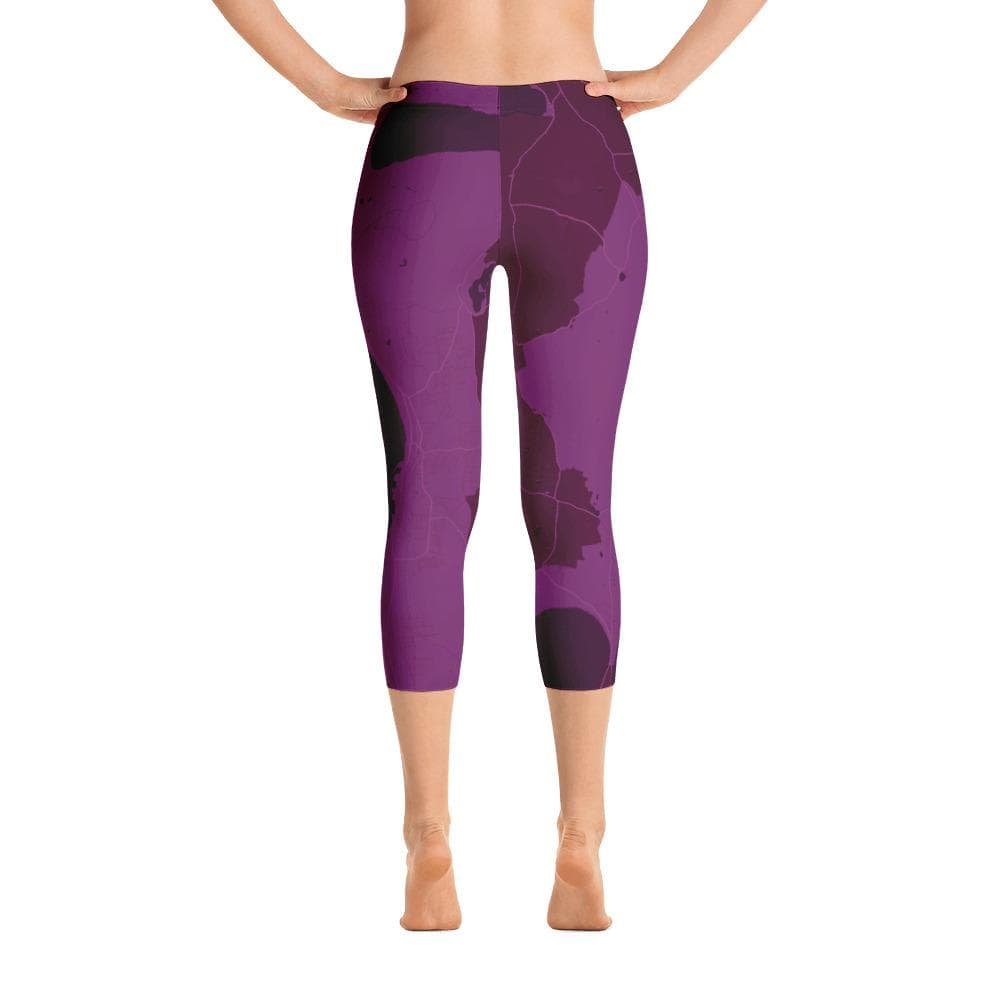 Capri Leggings Ebeltoft Purple
