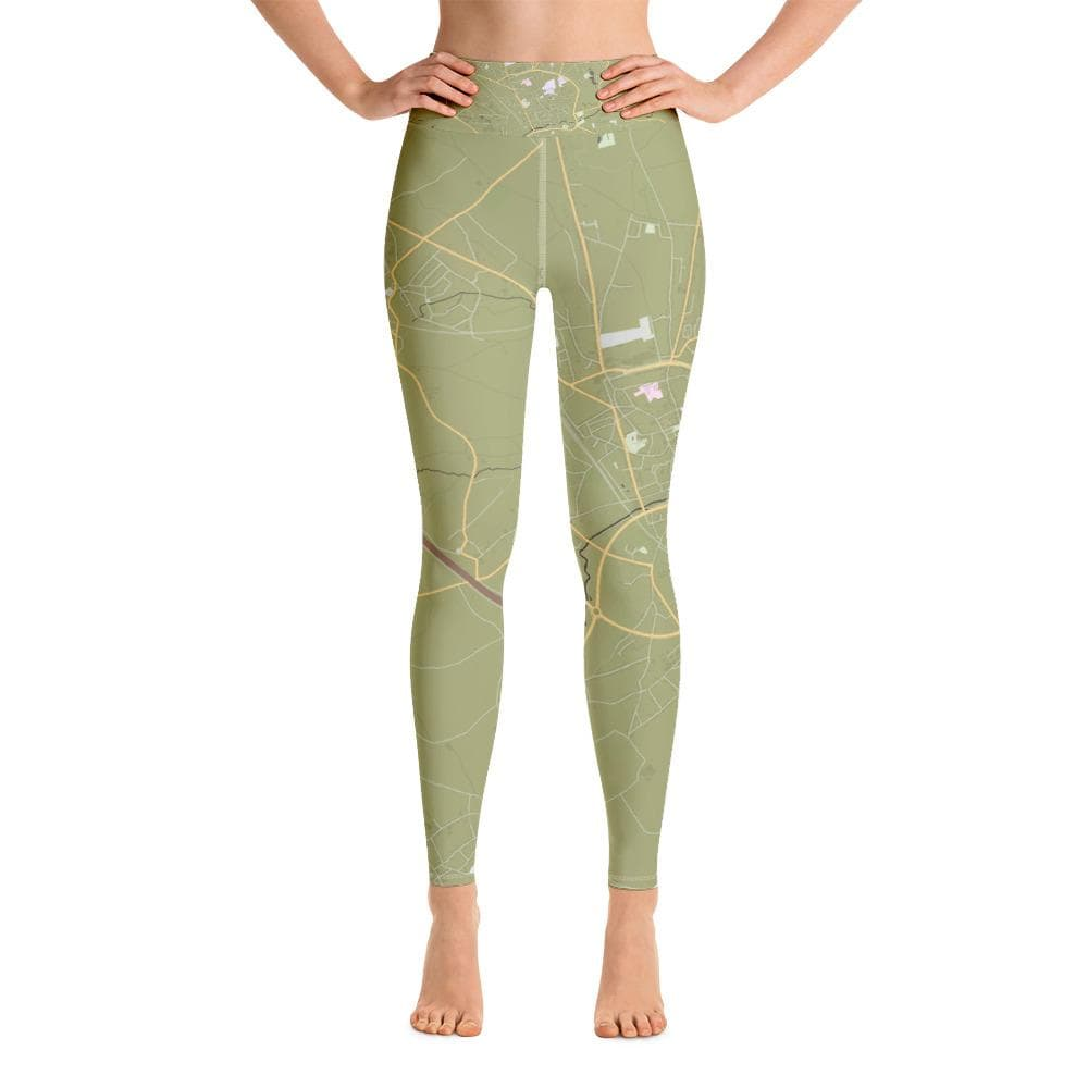 Yoga Leggings Tienen Olive Green