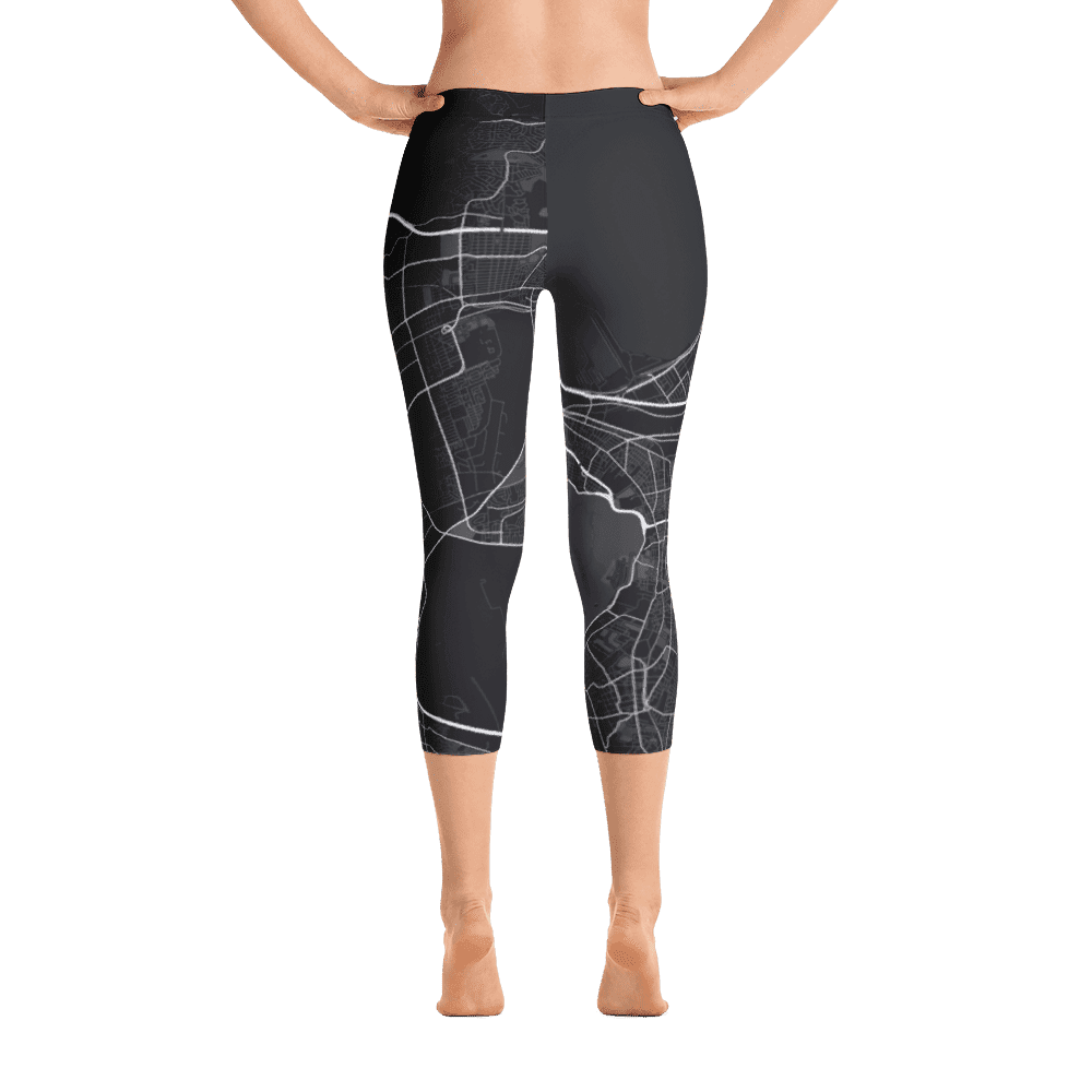 Capri Leggings Cape Town Black