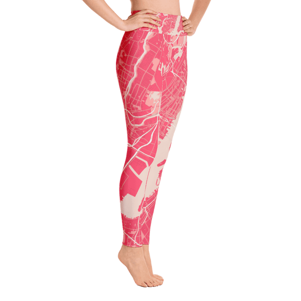 Yoga Leggings New York Pink
