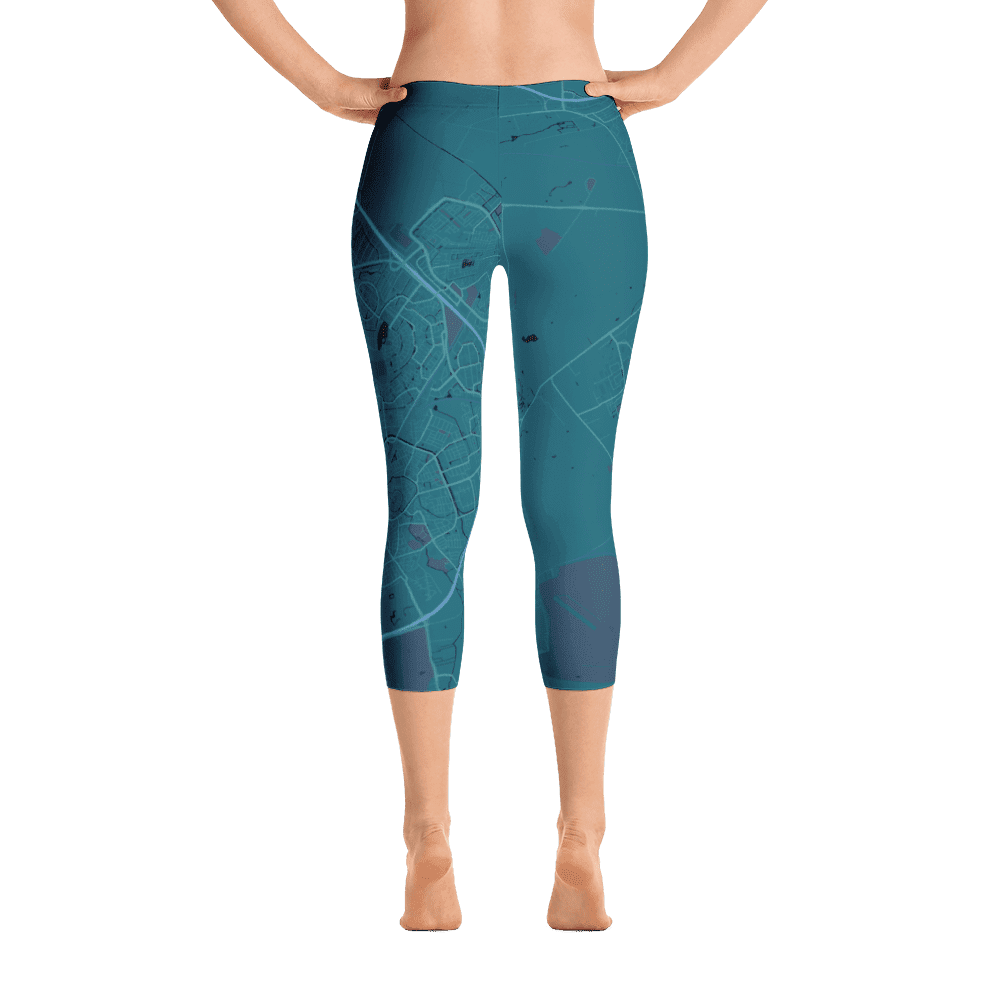 Capri Leggings Amersfoort Aubergine Light