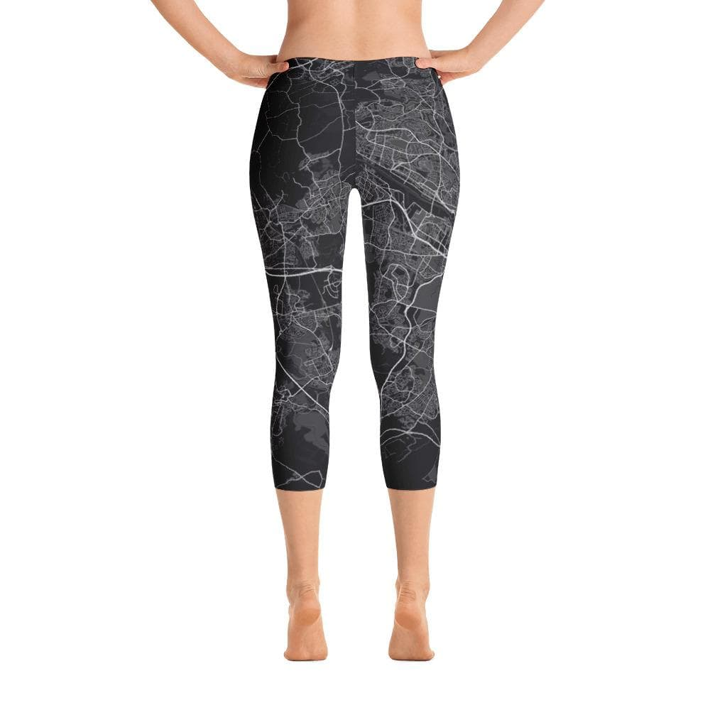 Capri Leggings Glasgow Black