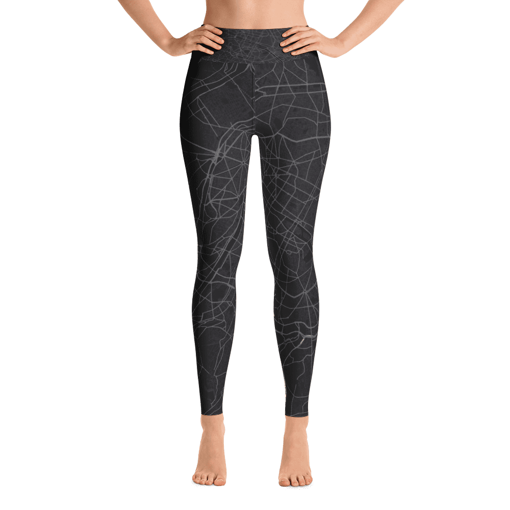 Yoga Leggings Paris Dark