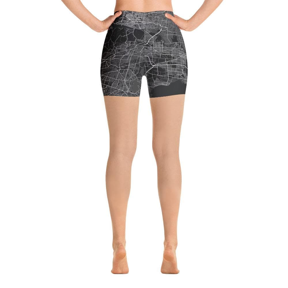 Yoga Shorts Melbourne Black
