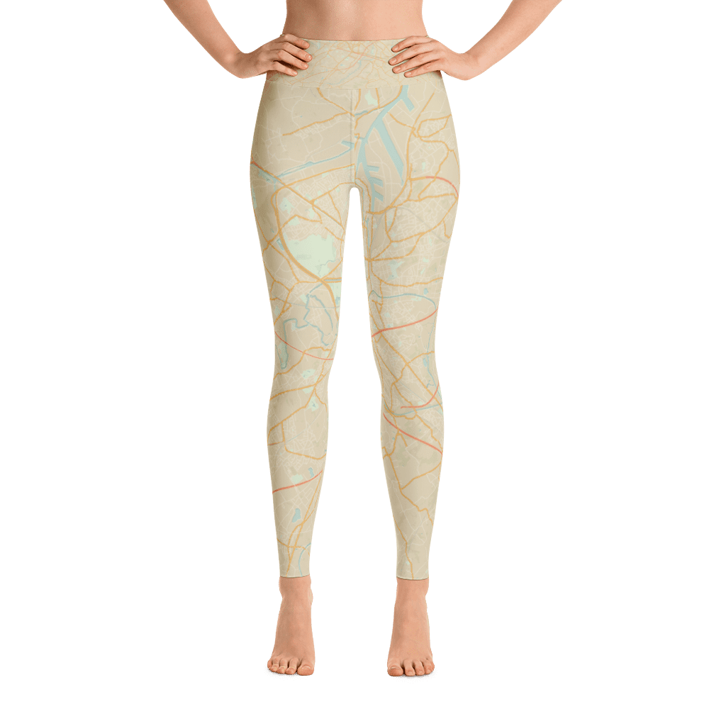 Yoga Leggings Gent Retro