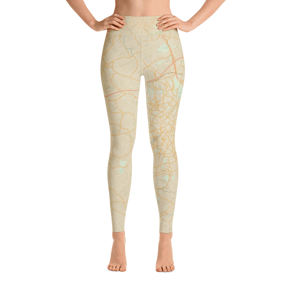 Yoga Leggings Brussels Retro