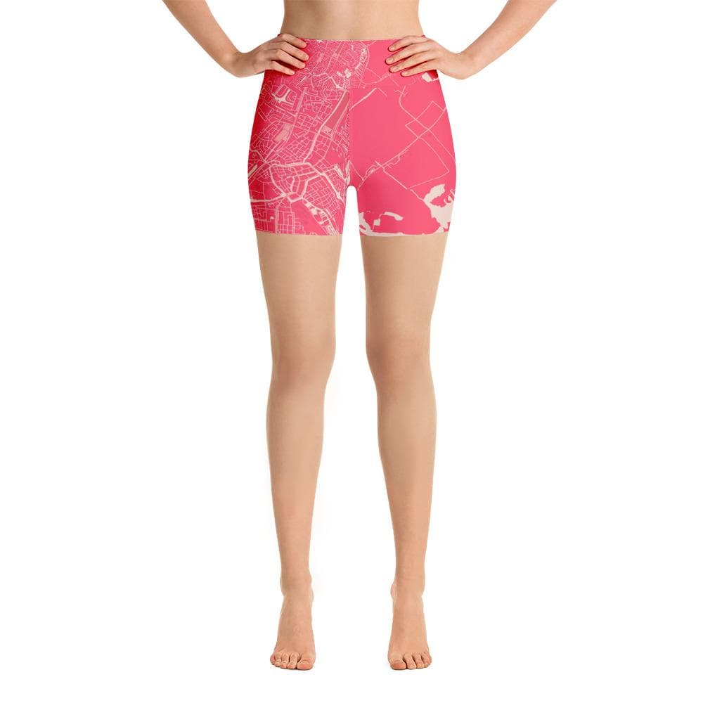 Yoga Shorts Sneek Pink