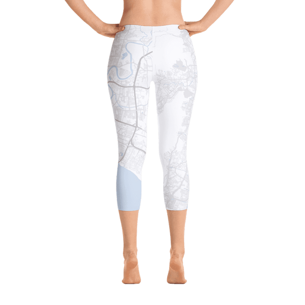Capri Leggings Penang White