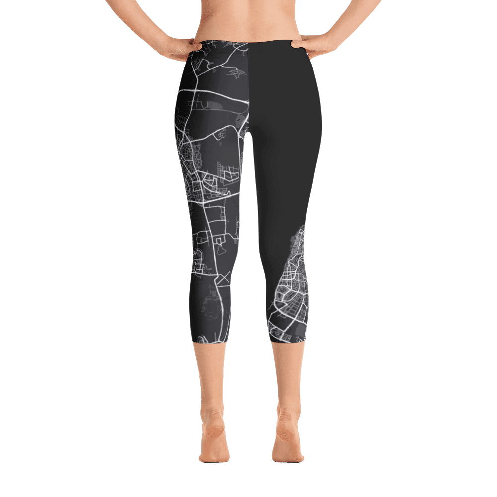 Capri Leggings Tel Aviv Black