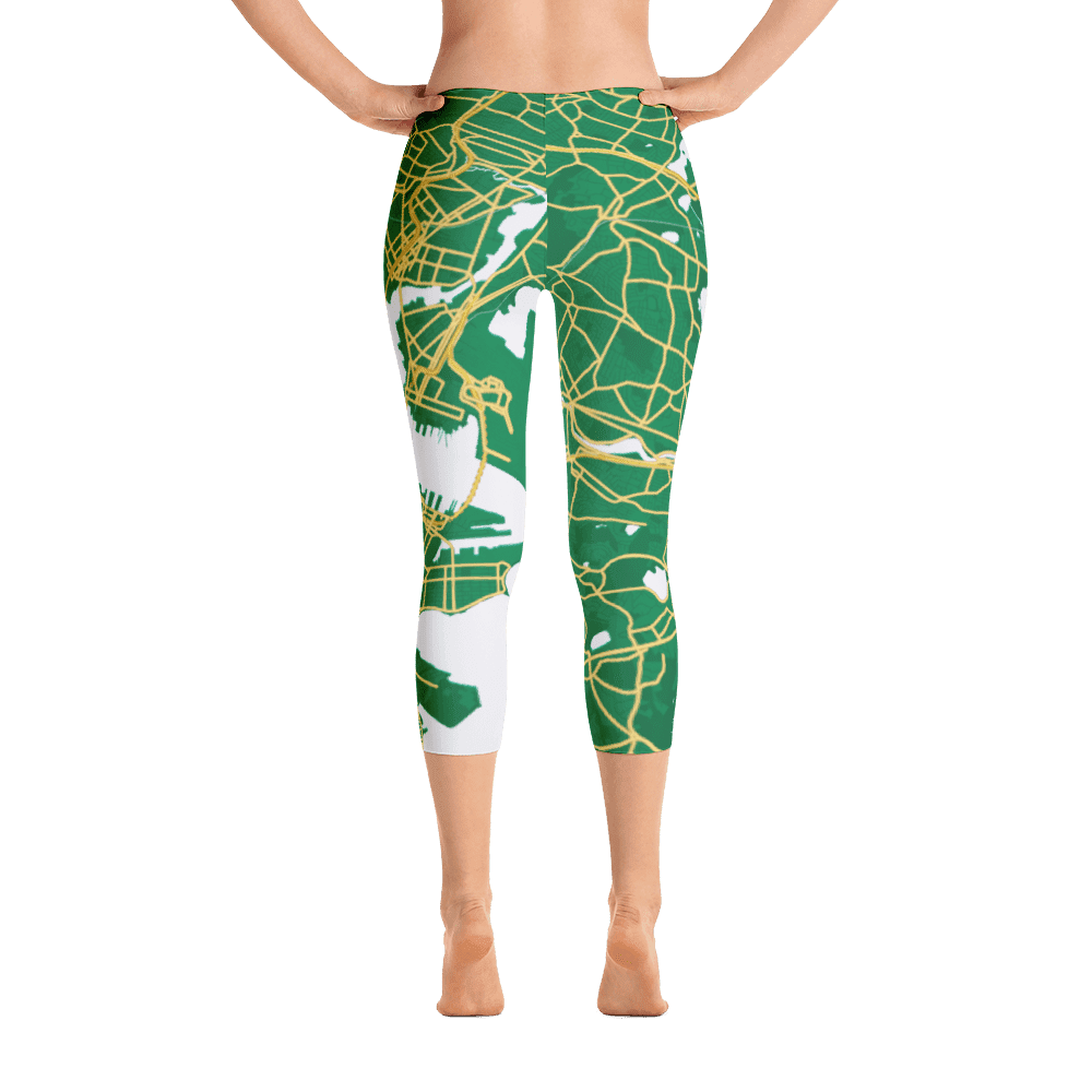 Capri Leggings Boston Green