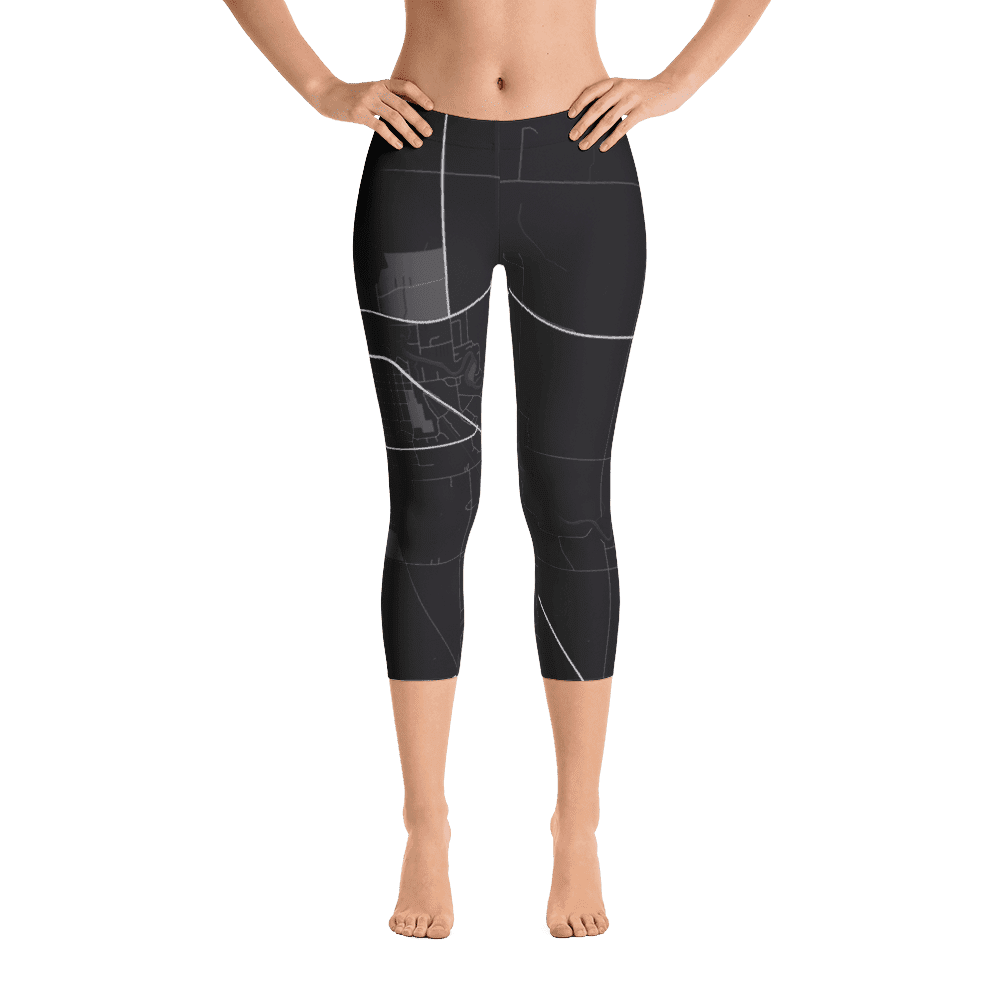 Capri Leggings Thief River Falls Minesota Black