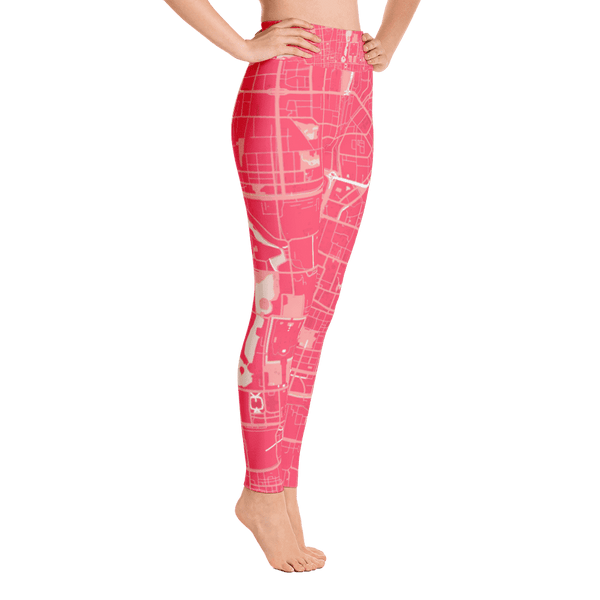 Yoga Leggings Beijing Pink