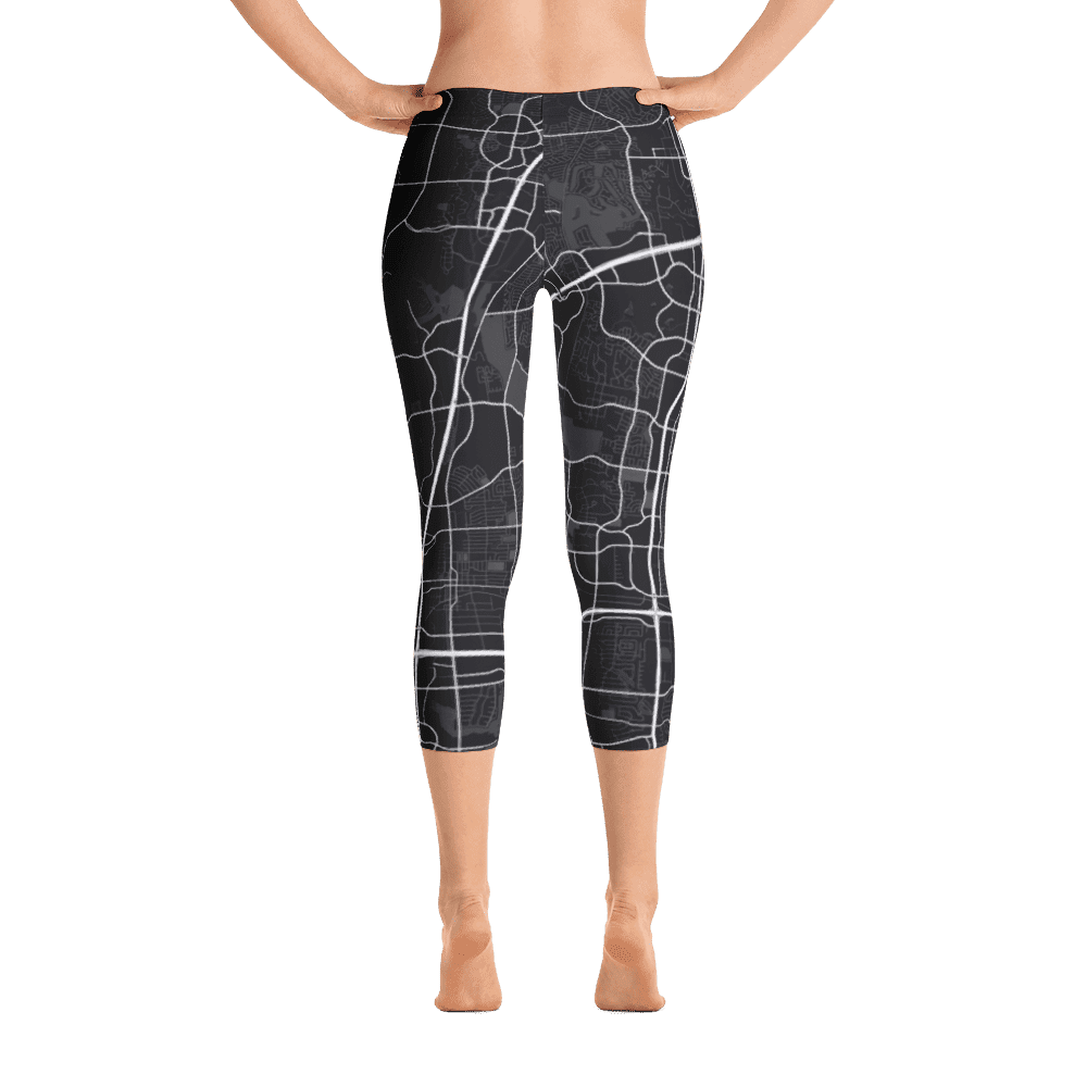 Capri Leggings Plano Texas Black