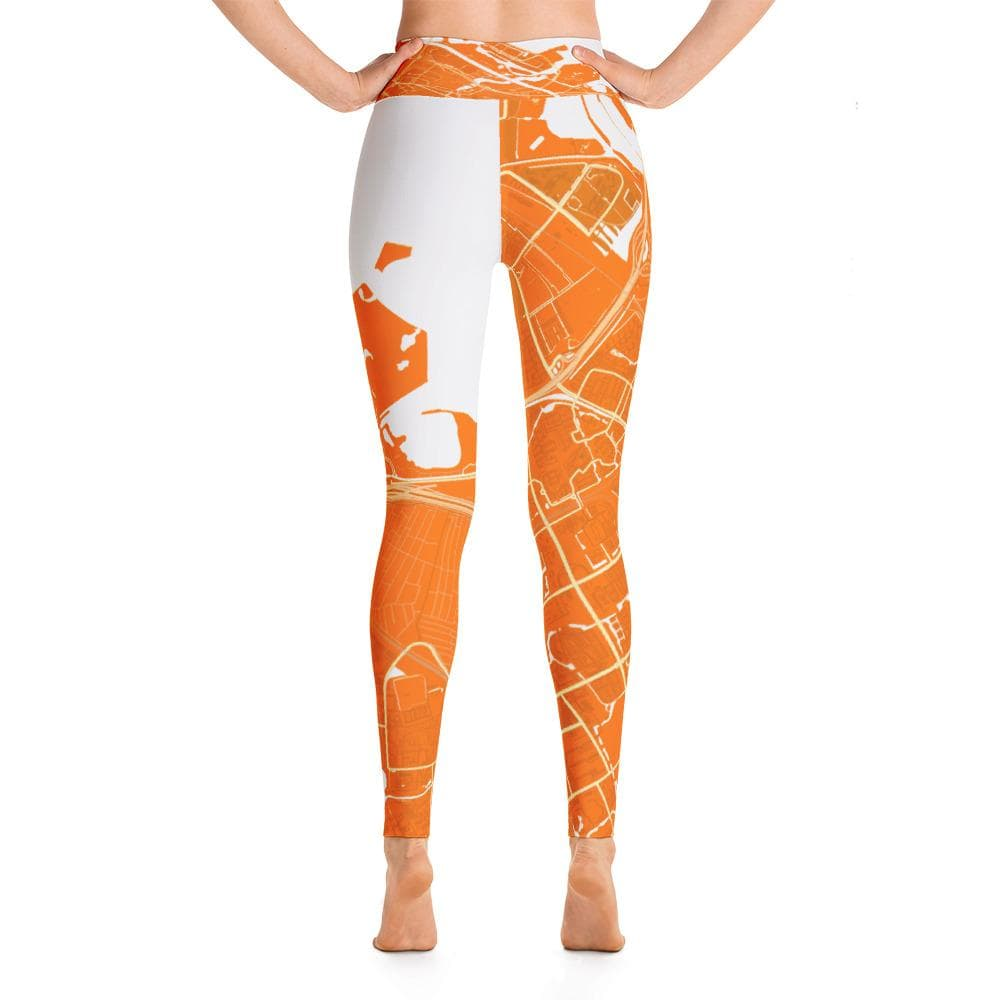 Yoga Leggings Diemen Orange