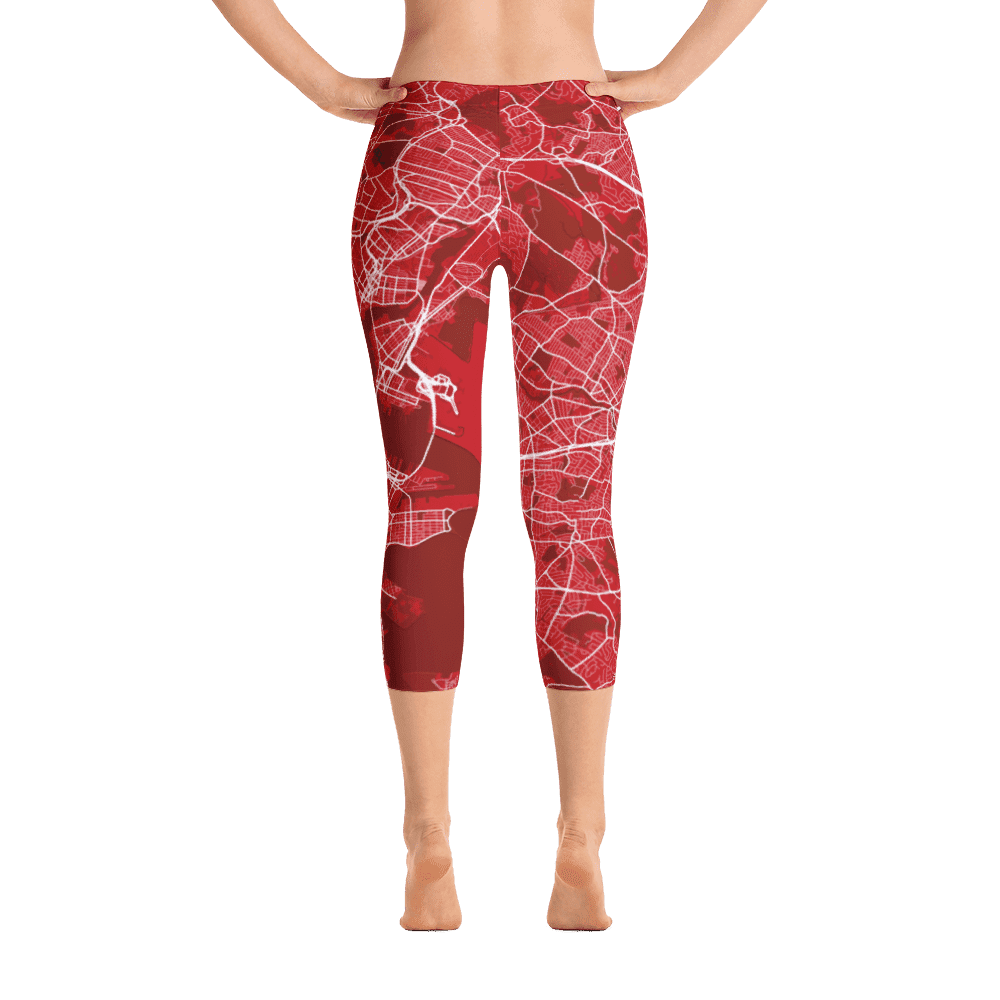 Capri Leggings Boston Red