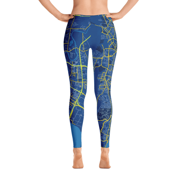 Leggings Penang Blue