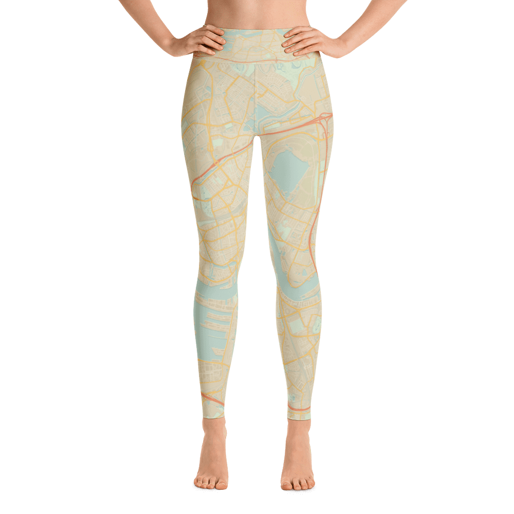 Yoga Leggings Rotterdam Retro
