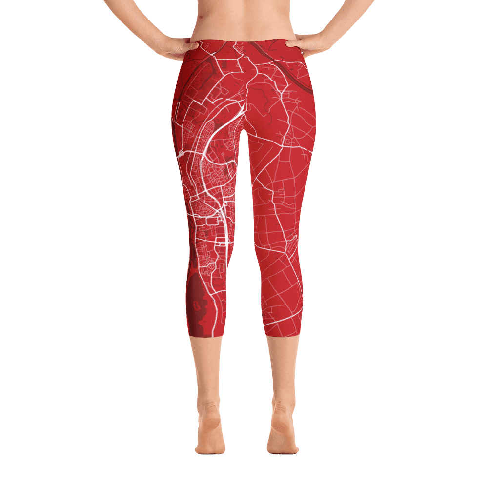Capri Leggings Maastricht Red