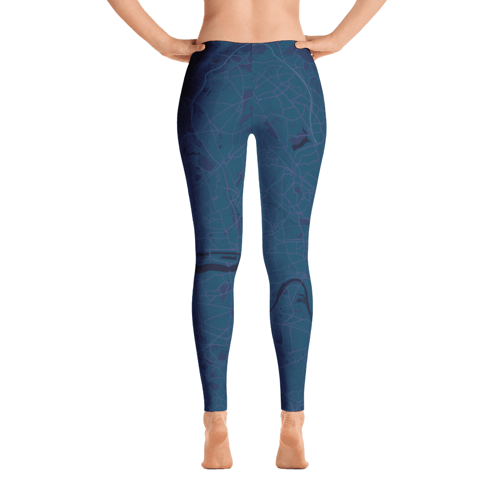 Leggings London Aubergine