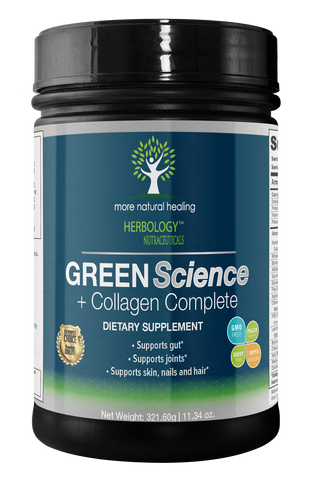 green science detox powder