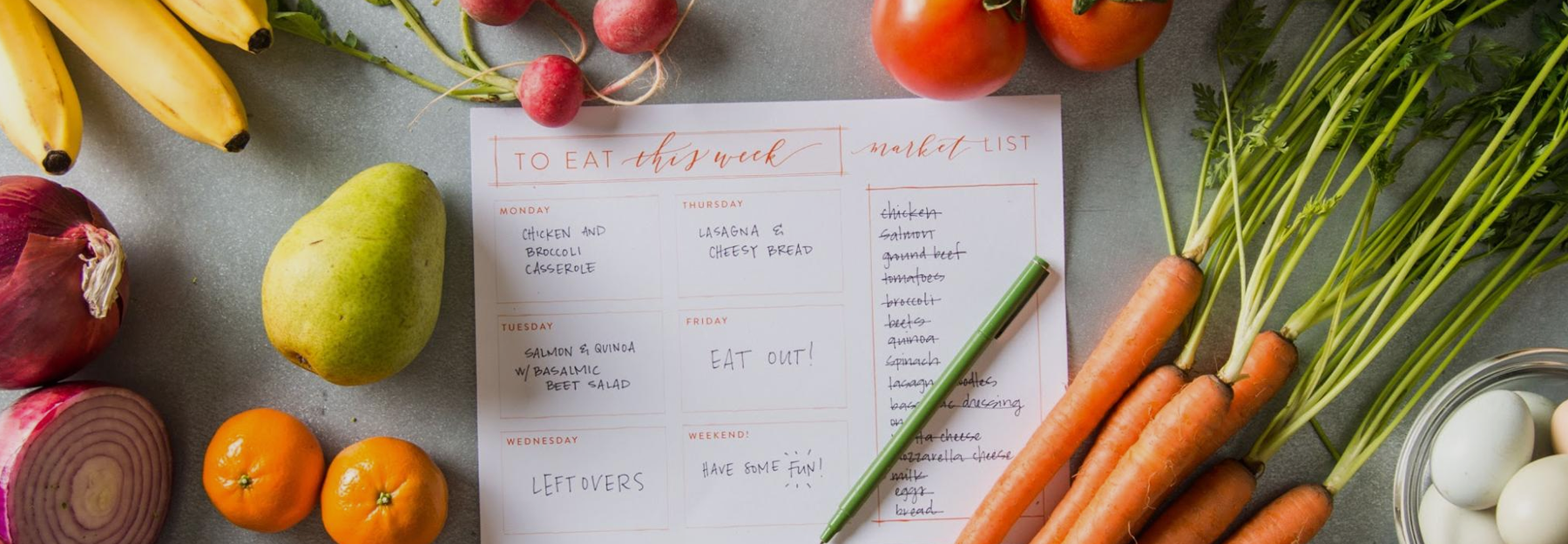 Meal Planning & Recipes