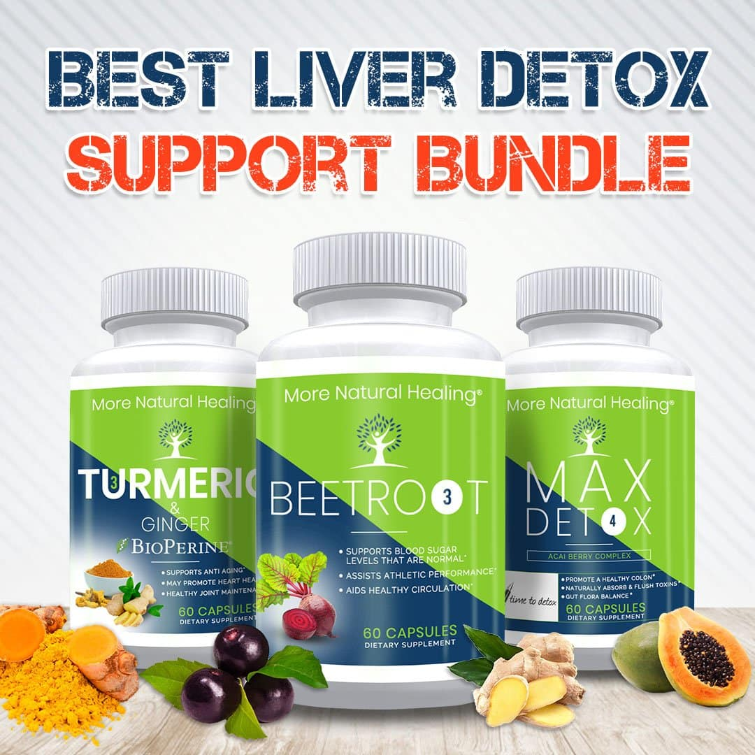 BEST LIVER DETOX BUNDLE - More Natural Healing