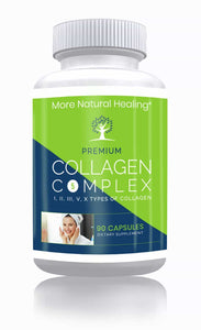 Collagen Complex I, II, III, V, X Types - More Natural Healing