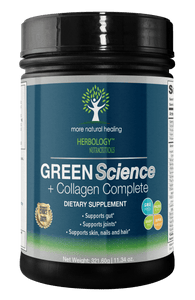 Green Science + Collagen Complete Superfood Green Drink - More Natural Healing - Balanced Life from Nature