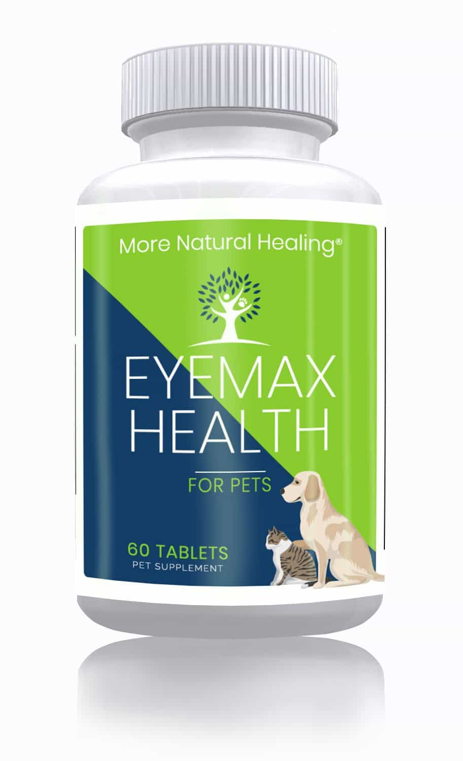 EyeMax Health for Pets Eye Support Supplement Tablets - More Natural Healing