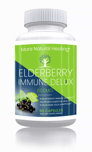 Elderberry Immune Delux - More Natural Healing